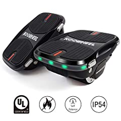 What is Hovershoes? Hovershoes is a new way of transportation. It's a combination of skateboard, Hoverboard and roller skating, more tricks can be played and take anywhere go everywhere.Specifications:Model: HovershoesWeight: 3.3kg/eachLoad R...