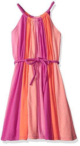 Dresses For Children (The Children's Place Big Girls' Rainbow Dress, Enchanted, L (10/12))