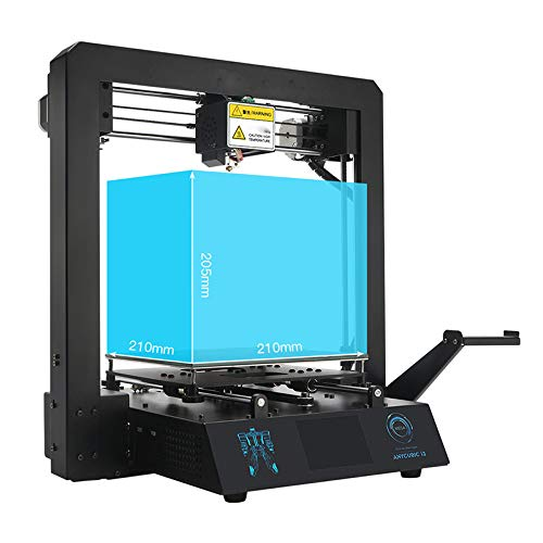 ZZWBOX Impresora 3D Full Metal con Cama patentada con calefacción ...