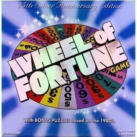 Amazon.com: 25th Anniversary Wheel of Fortune Game: Toys ...