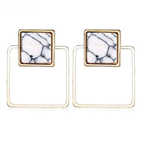 Hatoys Geometric Earrings, Women's 2018 Fashion Hollow Metal Jewelry Earring - Elephant 10k Earrings