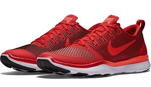 Nike Free Train Veelzijdigheid Mens Total Crimson / Gym Rood / Wit / Zwart