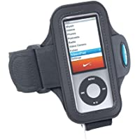 Armband for iPod nano 5th generation (and 4th generation) - use WITH or WITHOUT Nike+ Receiver