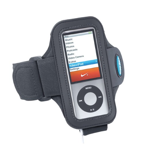 Armband Compatible With iPod nano 4th and 5th generation - use WITH or WITHOUT Nike+ - 4 Ipod Case Nano