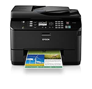 Epson WorkForce Pro WP-4530 Wireless All-in-One Color Inkjet Printer, Copier, Scanner, Fax, iOS/Tablet/Smartphone/AirPrint Compatible (C11CB33201)