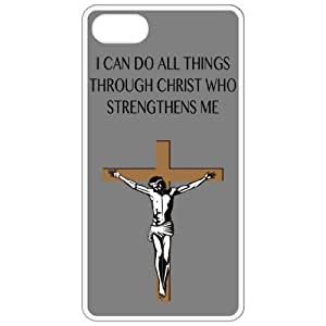 I Can Do All Things Through Christ Who Strengthens Me - Religious - Religion White Iphone 4 - Iphone 4s Cell Phone Case - Cover 48