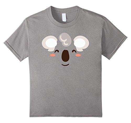 Kids Cute Koala Face T-Shirt Halloween Costume For Kids & Adults 8 (Koala Costume Kids)