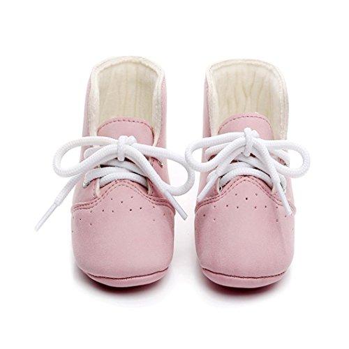 Hunpta Kinderschuhe Mädchen Jungen High Sneakers Baby Schuhe Sport Herbst Winter Schuhe Rosa