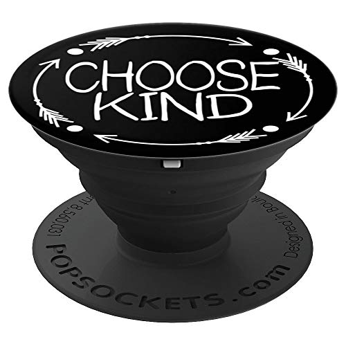 CocomoSoul-Mobile Choose Kind Anti Bullying Choose Kindess -Teacher Appreciation Gift - Last Day Of - PopSockets Grip and Stand for Phones and Tablets ()