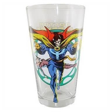 Dr. Strange Glass Toon Tumbler