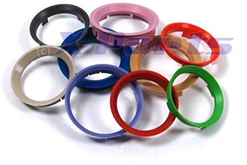 Anelli di centraggio per cerchi anello di centraggio 71, 6 su 60, 1 mm cerchione in alluminio 6su 60 1mm cerchione in alluminio X-Parts