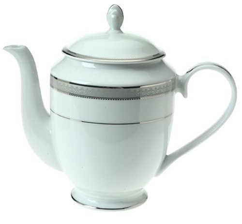 Platinum Coffee Pot - Mikasa Platinum Crown Coffee Server, 40-Ounce