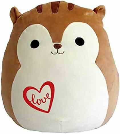 8da1e81b8638 Squishmallow Limited Edition Love Pre-Customized for Anniversary, Proposal,  Birthday Original Kellytoy Nick The Squirrel 13