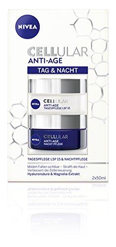 Nivea Cellular Anti-Age Tag und Nacht Pflege-Set, 1er Pack (1 x 100 ml)