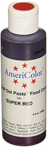 americolor-133ml-liquid-gel-food-color-45-ounce-super-red-2-pack