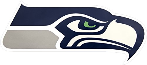 Applied Icon, NFL Seattle Seahawks Outdoor Small Primary Logo Graphic Decal ()