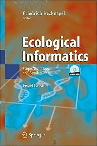 Téléchargez le livre électronique joomla Ecological Informatics: Scope, Techniques and Applications en français PDF
