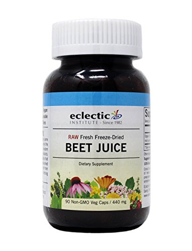 Beet Juice Freeze-Dried Eclectic Institute 90 Caps
