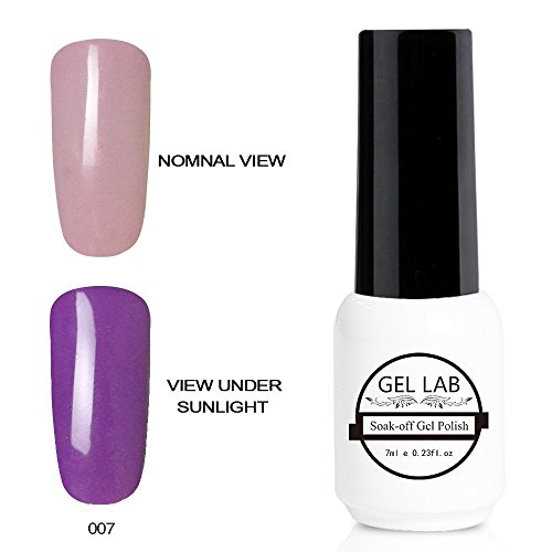 GEL LAB Chameleon Light Color Changing UV LED Gel Nail Polis