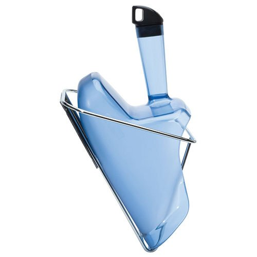 Rubbermaid FG9F5100TBLUE Ice Scoop and Holder - Safe Ice Handling System (Safe Holder Ice Scoop)