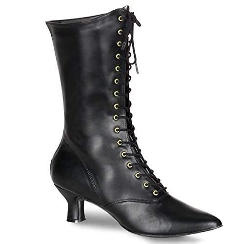 Funtasma by Pleaser Women's Victorian-120 Boot,Black,10 M -