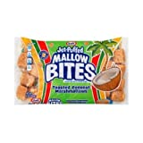 Jet Puffed Mallow Bites Toasted Coconut Marshmallows, 8 Ounce - 16 per case.