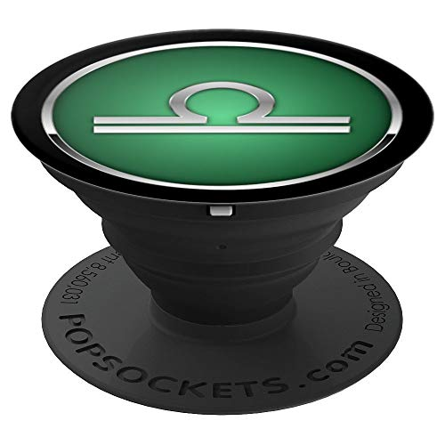 Zodiac Sign Libra Astrology Horoscope Design - PopSockets Grip and Stand for Phones and Tablets (Best Sign For Libra)