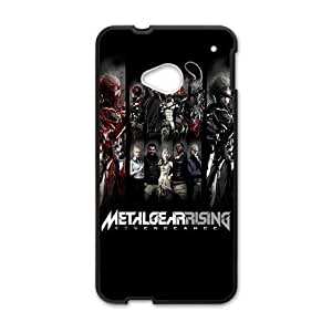 HTC One M7 Cell Phone Case Black Metal Gear Rising Revengeance Characters SU4578028