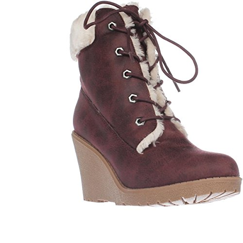 eb3aade4000 Dolce by mojo moxy Fresco Wedge Ankle Boot Boot Boot Booties-Burgandy  B071HVRG4S Parent f23e02