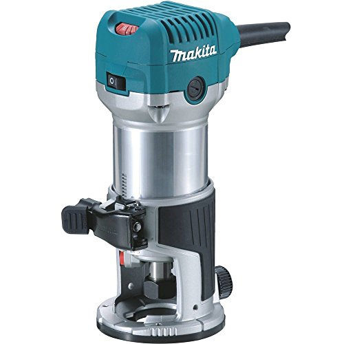 Makita RT0701C 1-1/4 HP Compact Router (Best 80 Lower Jig)