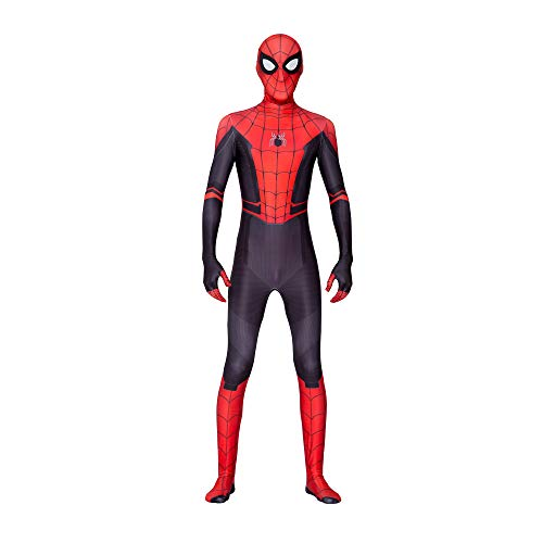 Spider Man Suit (Spider-Man: Far from Home Kids Bodysuit Spiderman Superhero Costumes Lycra Spandex Halloween Cosplay Costumes)