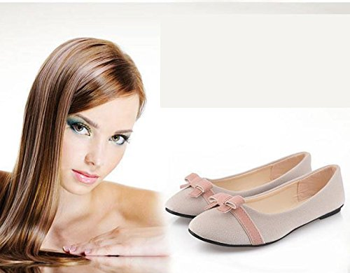 a8f9ba0291e7 Gaorui Women Bowknot Ballet Pumps Dolly Flats Ladies Ballerina Shoes  Pointed Toe Slip on Loafers Work Office Casual Shoes  Amazon.co.uk  Shoes    Bags