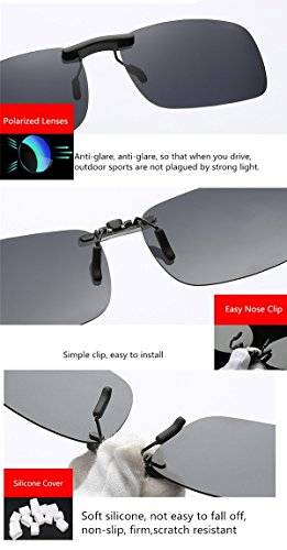 anteojos Color conducción clip estilo de gafas gafas gafas Lentes accesorio 4 aire pesca Buenas polarizadas sol recetados UV400 sol de libre para de al de gafas para miopía xOF17n1wYq