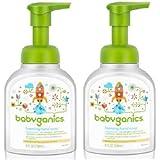 (跨境自营)(包税) Baby Ganics 甘尼克 宝宝水洗洗手液无香型 236ml*2