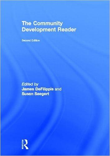 The Community Development Reader