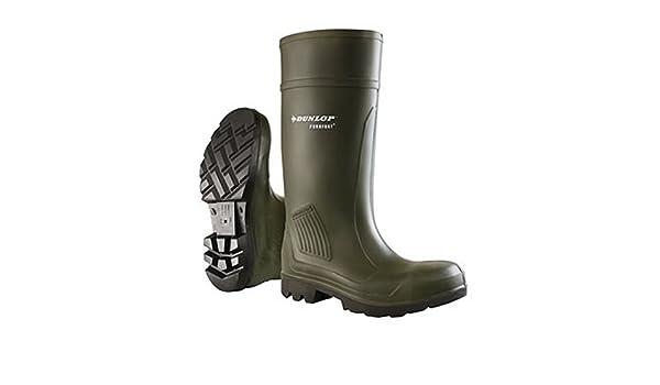 Dunlop Botas de Seguridad Modelo Purofort (41 EU/Verde): Amazon.es: Zapatos y complementos