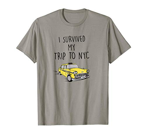 I SURVIVED MY TRIP TO NYC T-Shirt for Men Women and Youth