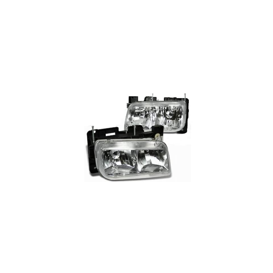 Cadillac Escalade GMC Yukon Denali 99 00 Chrome Euro Headlight