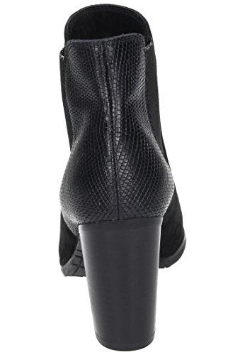 Piazza Piazza Damen Stiefelette - Botas de Piel para mujer negro negro negro