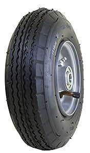 "Marathon 2,80/2.50- 4""(neumática de aire relleno) multiusos utilidad neumático de rueda, 3"" centrado Hub rodamientos de, 1/2"""