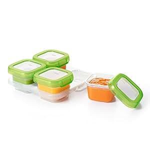 OXO Tot Baby Blocks Freezer Storage Containers – 4 oz