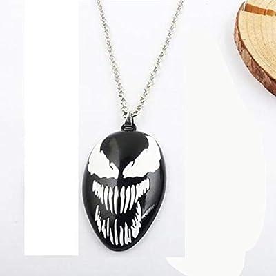 Amazon.com: Venom - Llavero con diseño de Spiderman, color ...