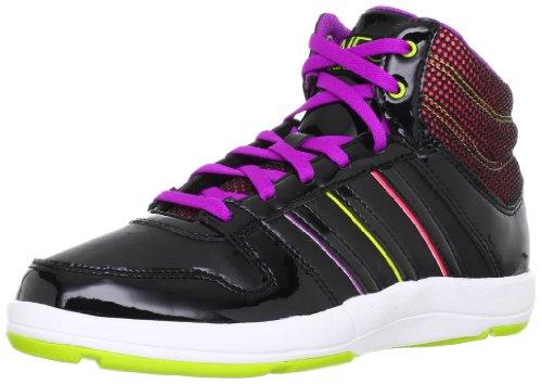 Neo Adidas Bball Meados W - Senhoras Da Sapatilha / Calçados Casuais Pretos 37 1/3
