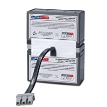 Replacement Battery Set for APC Back UPS XS 1000 (Model BX1000)