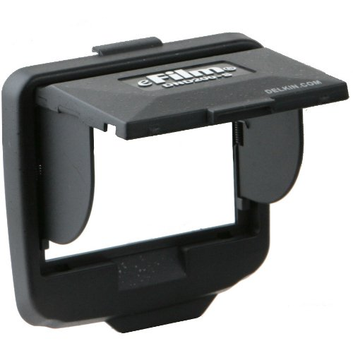 Delkin Devices DND200S Snap-On Shade for Nikon (Delkin Devices Pop Up Shade)