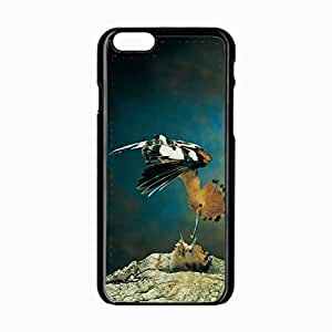 iPhone 6 Black Hardshell Case 4.7inch nest screaming hollow Desin Images Protector Back Cover