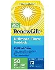 Ultimate Flora 50 Billion, 72 Vegetable Capsules (Bonus Size)