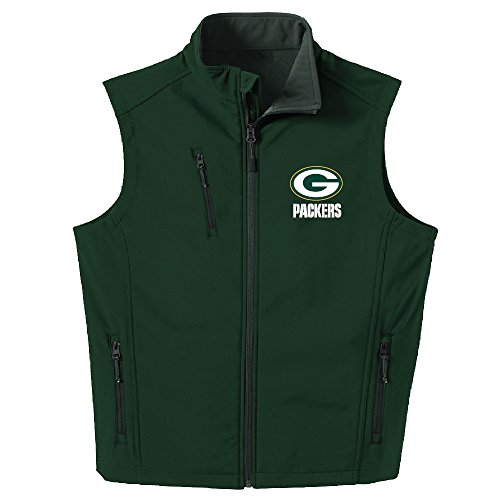 NFL Green Bay Packers Men's Archer Workwear Vest, X-Large, Forest