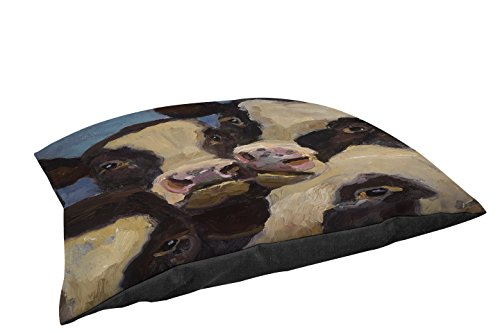 Manual Woodworkers & Weavers Indoor/Outdoor Large Breed Pet Bed, I Wanna be in The Picture, Multi Colored