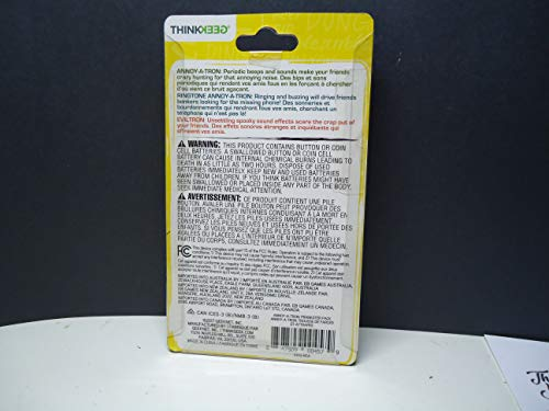 ThinkGeek Annoy-a-tron Prankster Pack 3 0 - Includes 3